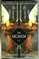 THE ARCANUM by Thomas Wheeler, rare US Bantam crime Sherlockian hardcover in DJ