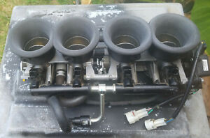 Suzuki Hayabusa velocity stacks GEN 2 Drag Racing Nitrous ports 1/16th NPT