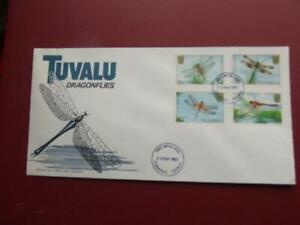 TUVALU  First day cover DRAGONFLIES 1983