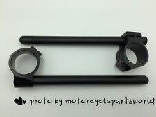 "37mm, 7/8"" Tube, CNC Motorcycle Universal Clip On Ons Fork Handle Bar Handlebars"