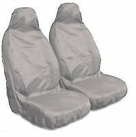 BMW 2 SERIES COUPE - Heavy Duty Grey Waterproof Car Seat Covers - 2 Fronts