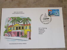 1979 First Day Cover/ FDC - Cocos ( Keeling ) Islands - Postal Service