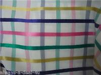 """NEW 60"""" x 60"""" Tablecloth Multi Stripe Print Plaid"""
