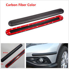 2Pcs Car SUV Rubber Bumper Guard Edge Protector Strip Corner Anti-collision Trim