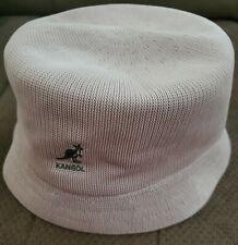 Kangol Tropic Bin Bucket Khaki Tan Beige Hat sz XL