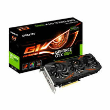 GIGABYTE GeForce GTX1080 GDDR5X 8 GB, version G1.