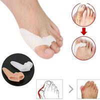 1 Pair Silicone Bunion Corrector Hallux Valgus Orthopedic Braces Toe Separator