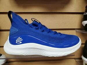 Under Armour Team Curry 8 NM Men's 8.5 Women's 10 Royal(3024785-400)New w/Box