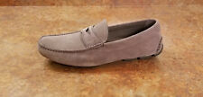 New! Prada Driving Penny Loafer Shoes Gray Grey Suede Mens 8 US 7 UK MSRP $520