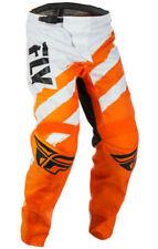 Pantalones de motocross naranjas Fly
