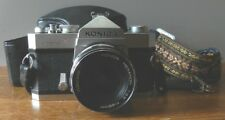 Konica Autoreflex-T 35mm Camera with a Hexanon 28MM lens & case