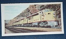 Union Pacific Railroad  City of Los Angeles   Original 1950's Vintage  Card