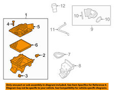GM OEM Air Cleaner Intake-Filter Box Housing 22897044