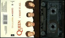 Queen I Want It All UK Cassette Tape