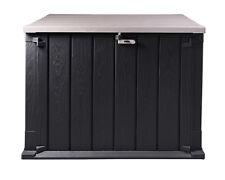Ondis24 Mülltonnenbox Storer Light 750 L anthrazit-grau Gerätebox abschließbar