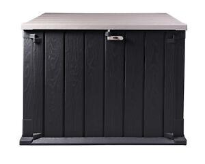 Ondis24 Mülltonnenbox Storer Light 842 L anthrazit-grau Gerätebox abschließbar