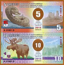 SET Federation of North America, 5;10 Ameros, 2015, Clear Window Polymer