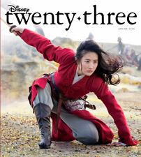 Disney D23 - Twenty Three Spring 2020 Magazine -  Mulan Cover - BRAND NEW