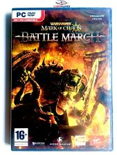 Warhammer Mark Chaos + Expansion Battle March PAL/SPA PC Sealed Retro Precintado