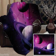 Galaxy 5 Design Doux Couverture polaire Housse Couverture Lit L&S motifs