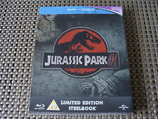Blu Steel 4 U: Jurassic Park III : Limited Edition Steelbook 3000 Only Sealed