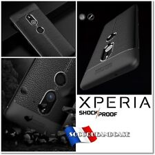 Etui Coque Housse Silicone shockproof Case cover Xperia XA1 XZ1 XA2+ XZ3 + Film