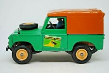 1:32 Britains 9571 SWB 1975 LAND ROVER BRITAIN'S Farm Vehicle with DRIVER VGC