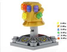 Lego Custom Infinity Gauntlet With Stones Avengers Infinity War