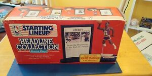 Magic Johnson Starting Lineup Headline Collection