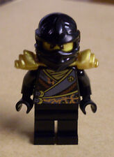 Lego Ninjago Minifigure Cole - Rebooted with Armor from 891503-1