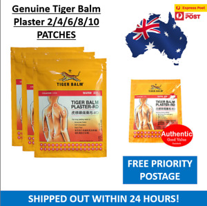Tiger Balm Plaster-RD (Warm) Plasters Patches 2 pcs Aussie Stock
