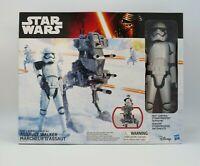 Star Wars the Force Awakens 12inch Assault Walker With Storm Trooper Figure New