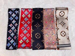 Fashion Twilly Scarf Ribbons Scarf Bag Scarf Neckerchief Hair Accessories