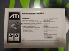 ATI ALL-IN-WONDER 9600 PRO RADEON 128MB 8X AGP VIDEO CARD