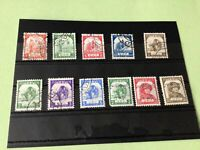 Burma Japanese Occupation 1943/1944 mint never Hinged & used Stamps Ref 51794