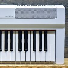 Yamaha P-125 Digital Piano 88-Key Graded Hammer Standard White Digital Keyboard