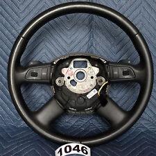 Audi A4 S4 RS4 2008 Steering Wheel Triptronic Paddle Shift OEM Black 1046