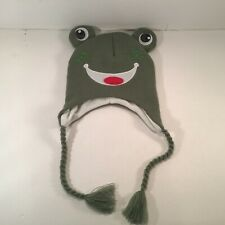 Ole America kids Green Frog Hat New With Tags