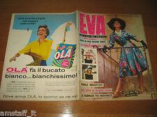 EVA=1959/24=RIVISTA MAGAZINE MODA DONNA WOMAN CUCINA ARREDAMENTO=