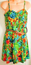 NWOT! women's A. Byer colorful summer dress size JUNIOR small NO BELT!! new