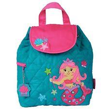 Stephen Joseph Girls Quilted Mermaid Backpack - Cute Toddler Preschool Bags