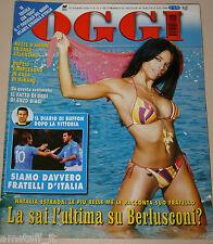 OGGI=2002/24=NATALIA ESTRADA=LULA=GEORGE LUCAS=TOBERY MAGUIRE SPIDER MAN=