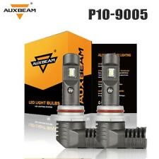 AUXBEAM 60w 9005 LED Headlight Bulbs Pair 6000K White Light HID Replacement