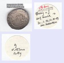 Schüsselpfennig o. J. Meddersheim Salm-Dhaun Adolf Heinrich ex Slg. Horn (D199)