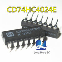 5XCD74HC4024E high-speed CMOS 7 level binary ripple counter logic chipIC DIP-20