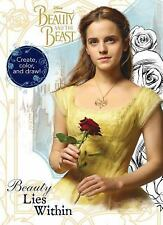 Disney Beauty and the Beast Design and Doodle by Parragon (2017, Paperback)
