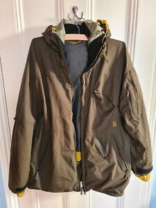Rossignol snowboard jacket green size L. mens
