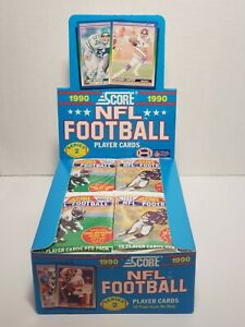 Vintage * NFL * Score * Football * 1990 * Individual Pack * Complete Your Set!