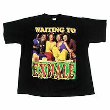 Vintage Waiting To Exhale Men's Black T-Shirt reprint