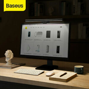 Baseus USB LED Light Bar PC Computer Laptop Monitor Clamping Desk Lamp E-Reading